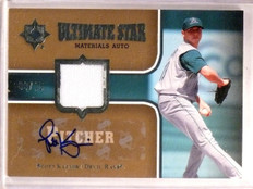 2007 Ultimate Collection Scott Kazmir Star Jersey Autograph #D09/15 #SMSK *55541