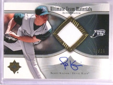 2007 Ultimate Collection Scott Kazmir Team Jersey Autograph #D07/10 #UTMSK2 *555