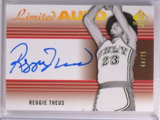 2014-15 SP Authentic Reggie Theus Limited Autograph Auto #D44/75 #42 *53717