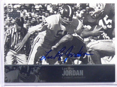 2011 Upper Deck College Legends Lee Roy Jordan auto autograph #24 *39657
