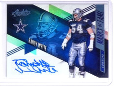 2016 Panini Absolute Marks of Fame Randy White Autograph #D 42/54 #3 *58982