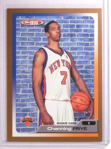 2005-06 Topps Total Gold Channing Frye Rookie RC #D04/10 #342 *66870