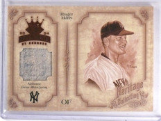 2004 Diamond Kings Heritage Collection Roger Maris Jersey #D08/25 #HC23 *59595