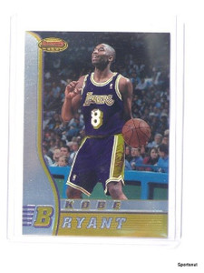 96-97 Bowman's Best Kobe Bryant rc rookie #R23 *42934