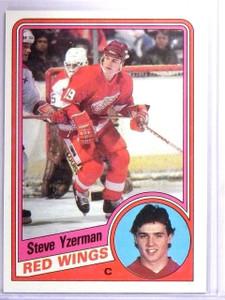 1984-85 Topps Steve Yzerman Rookie RC #49  *61513