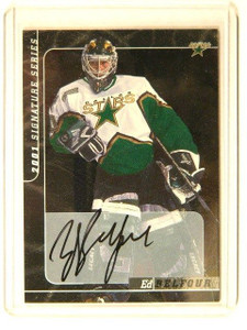 00-01 Be A Player BAP Signature Series Ed Belfour auto autograph #78 sp! *41502