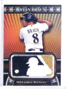 2010 Topps Manufactured MLB Logoman Patch Ryan Braun #D46/50 #TCP13 *60268
