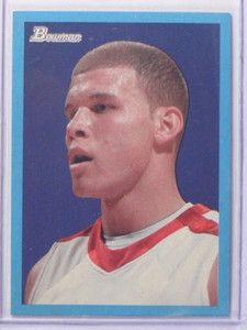 09-10 Bowman 48 Blue Parallel Blake Griffin rc rookie #D1408/1948 #101 *38519