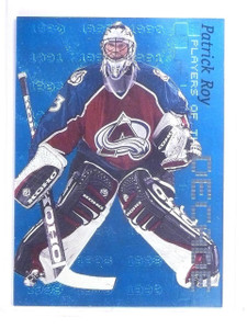 1999-00 Bap Millennium Players of the Decade Patrick Roy #D0677/1000 #D3 *64487