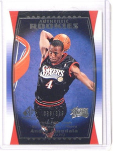 04-05 Sp Game Used Andre Iguodala rc rookie #D698/999 #97 *38296