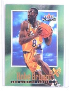 2001-02 Fleer Platinum 15th Anniversary Reprints Kobe Bryant #16 *66643