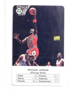 1988 Fournier NBA Estrellas Michael Jordan #22 *66641