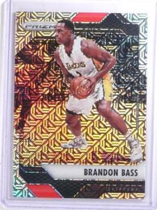 2016-17 Panini Prizm Prizms Mojo Refractor Brandon Bass #D14/25 #60 *66640