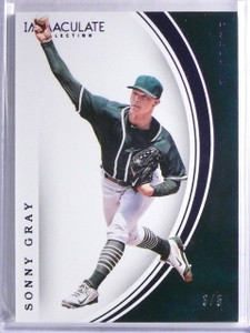 2016 Panini Immaculate Collection Purple Sonny Gray #D3/5 #47 *65768