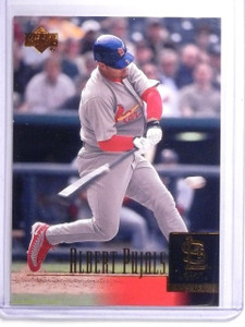 2001 Upper Deck Albert Pujols Rookie RC #295 *64154