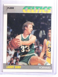 1987-88 Fleer Larry Bird #11 *66634
