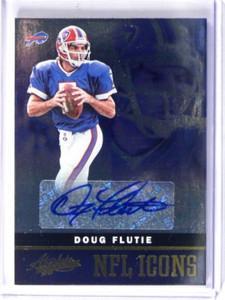 2012 Panini Absolute NFL Icons Doug  Flutie auto autograph #D21/25 #12 *37703