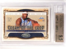 03-04 Hoops Hot Prospects Cream of Crop Carmelo Anthony rc BGS 9.5 *53070