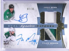 2015-16 The Cup Signature Patches Jamie Benn Seguin Patch Autograph /35  *61564