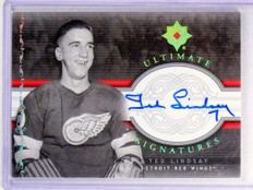 06-07 Ultimate Collection Signatures Ted Lindsay autograph auto #US-TL *48413
