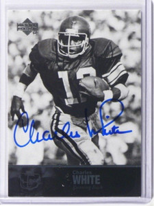 2011 Upper Deck College Legends Charles White auto autograph #36 *36948