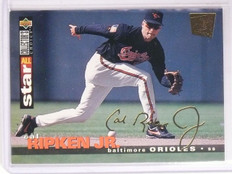 1995 UD Collector's Choice SE Gold Signature Cal Ripken Jr. #155 *66974