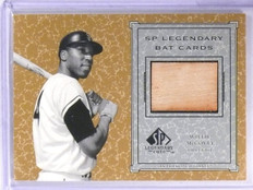 2002 UD SP Legendary Cuts Bat Willie McCovey #BWMC *63028