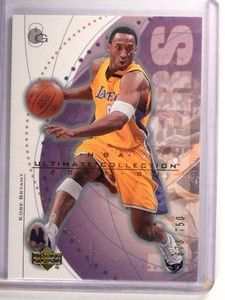 2002-03 UD Ultimate Collection Kobe Bryant #D673/750 #26 *51554