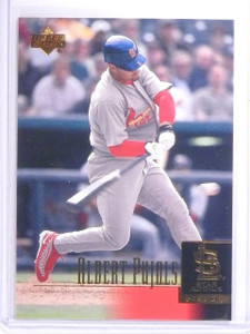 2001 Upper Deck Albert Pujols Rookie RC #295 *64060