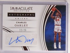 2015-15 Panini Immaculate Collection Charles Oakley Autograph #D22/25 #35 *66872