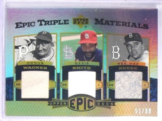 2006 Upper Deck Epic Triple Materials Reese Wagner Smith Jersey #D51/99 *65678