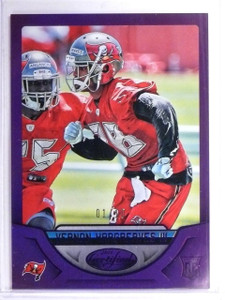 2016 Certified Mirror Purple Vernon Hargreaves III Rookie #D01/10 #176  *60891