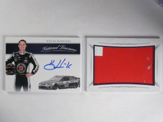 2016 National Treasures Kevin Harvick Jumbo Sheet Metal Autograph #D25/25 *65169