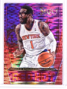 2013-14 Panini Select Amare Stoudemire Red Hot Prizm Purple #D43/99 #50 *50929