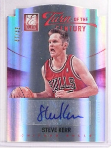 2012-13 Elite Turn of the Century Steve Kerr Autograph #D47/49 #4 *66771