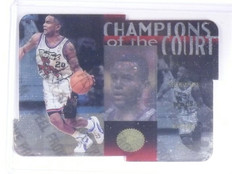 1995-96 UD SP Champions of the Court Die Cut Damon Stoudamire Rookie #C26 *64614