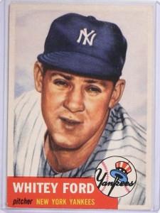 1953 Topps Whitey Ford #207 VG-EX *60527