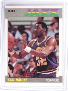 1987-88 Fleer Karl Malone #68 *49661