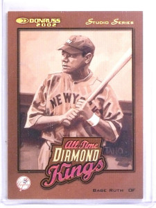 2002 Donruss All-Time Diamond Kings Studio Babe Ruth #D061/250 #ATDK4 *60141