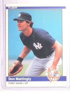 1984 Fleer Don Mattingly Rookie RC #131 *66907