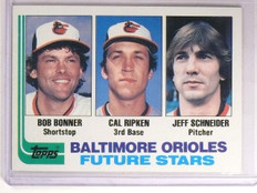 1982 Topps Schneider Bonner Cal Ripken Jr. Rookie RC #21 *66906