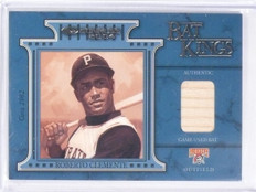 2004 Donruss Bat Kings Roberto Clemente #D024/100 #BK8 Pirates *58853