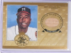 2001 Donruss Bat Kings Hank Aaron bat #D141/250 #BK10 *58845