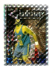 96-97 Topps Finest Silver Uncommon Refractor Karl Malone #116 *46627