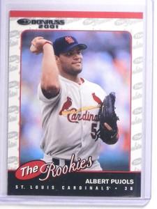 2001 Donruss Rookies Albert Pujols Rookie RC #R97 *64151