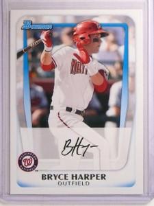 2011 Bowman Prospects Bryce Harper Rookie RC #BP1 *66903