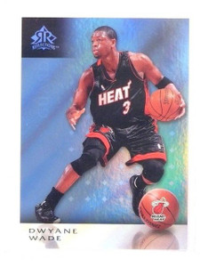 2006-07 UD Reflections Dwyane Wade Blue #d38/49 #51 *45985