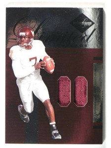2005 Leaf Limited Threads Michael Vick jersey #D37/50 #LT-66 *40179