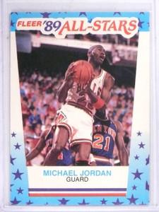 1989-90 Fleer Stickers Michael Jordan #3  *61440