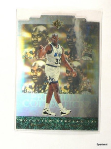 95-96 Sp Holoview Special F/X Diecut Shaquille O'neal #pc25 *43756